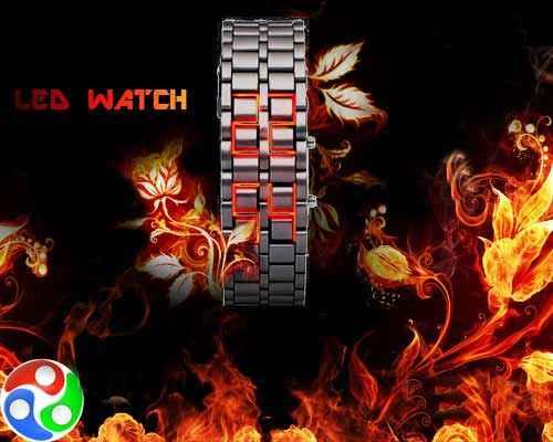 ساعت شیک و متفاوت LED مدل Iron Samurai(سامورایی) اصل